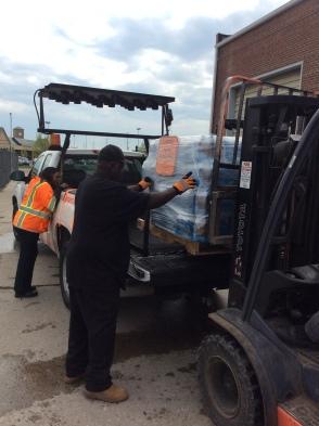 Flint Water Donation 007