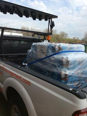 Flint Water Donation 009