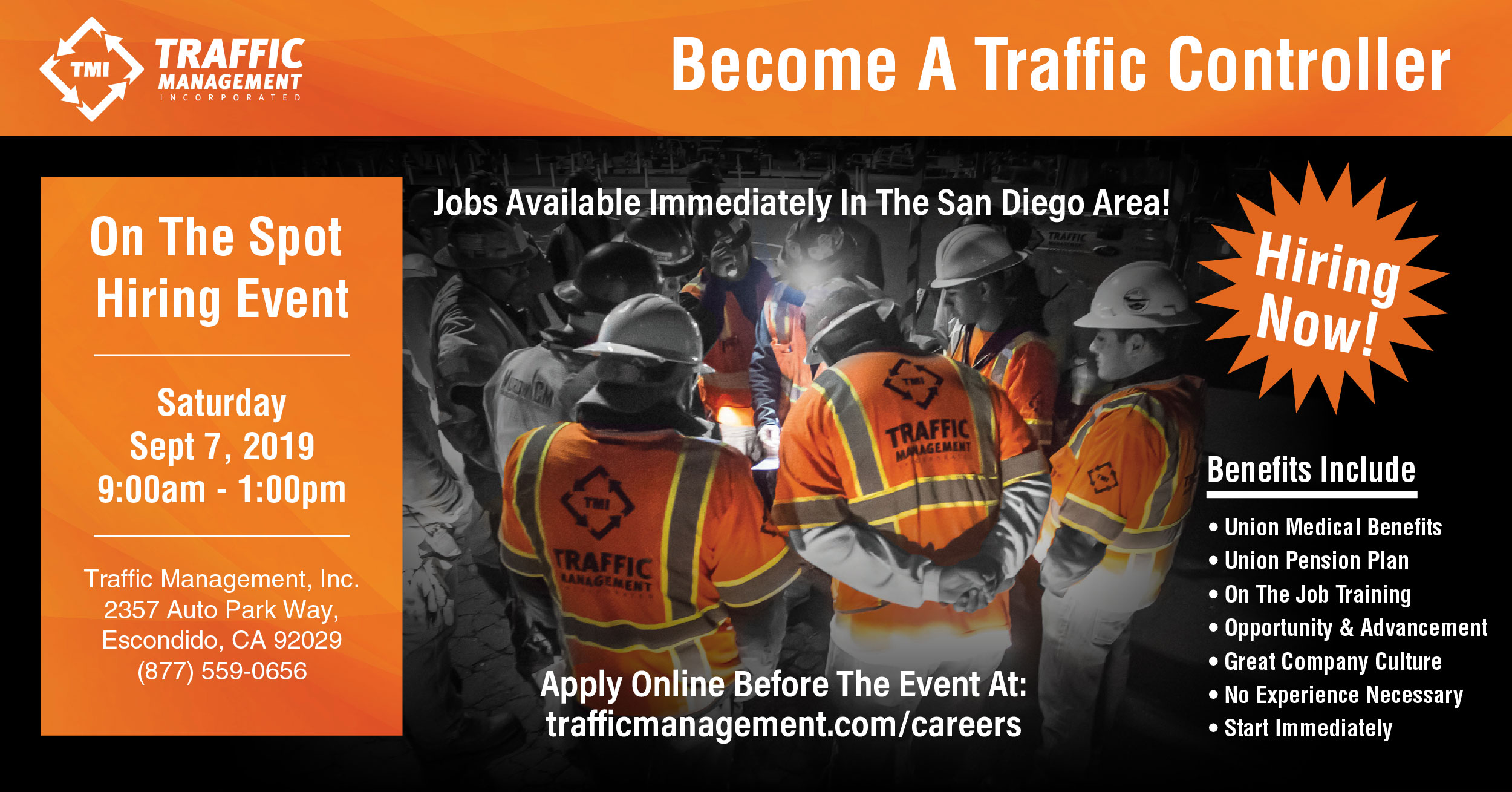 Become a Traffic Controller in San Diego, CA